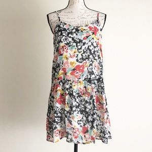 {Volcom} 'Shoulda Woulda' Floral Print Dress